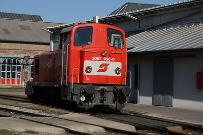 2067 098_b at Vienna Sud Depot on 7th August 2008