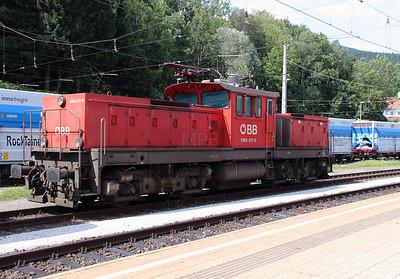 1063 017 at Leoben Hbf on 11th August 2015