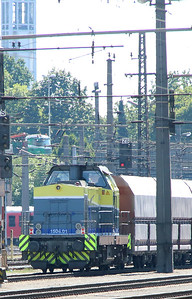 Cargo Serv, 1504 01 (93 81 1504 001-7 A-CARGO) at Linz HBF on 6th August 2015 (2)