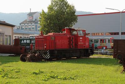 GKB, 700 1 (98 45 0007 001-1 A-GKB) at Graz Koflacherbahnhof on 11th August 2015 (3)