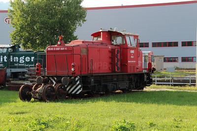 GKB, 700 1 (98 45 0007 001-1 A-GKB) at Graz Koflacherbahnhof on 11th August 2015 (2)
