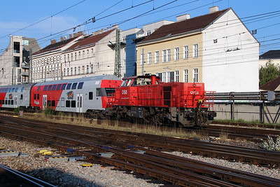 2070 047 (92 81 2070 047-3 A-OBB) at Vienna Westbahnhof on 6th August 2015