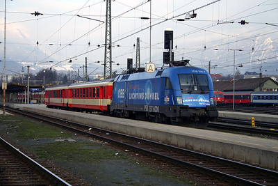 1116 100 at Villach Hbf 28th March 2004 (2)