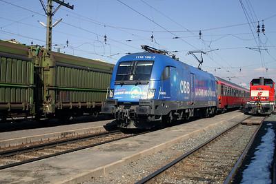 1116 100 at Zeltweg 29th March 2004