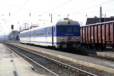 6030 220 at Zeltweg 29th March 2004