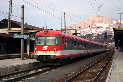 6010 023 at Schwarzach St Veit 27th March 2004