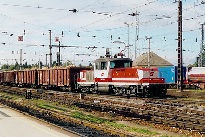 1163 019 at St Polten HBF on 11th October 2003