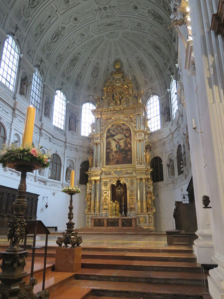 St. Michael's Church Munich- Burial Crypt of King Ludwig II