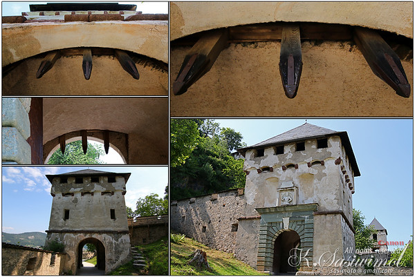 One of the fortified gates @ Burg Hochosterwitz