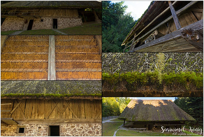 Super thick thatched roof, I love