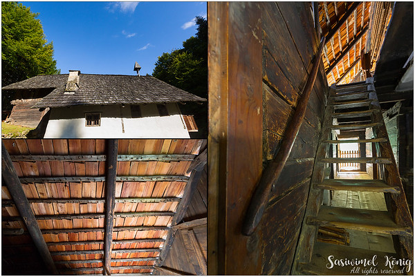 Amazing roof style at the Tierstaller. They used wooden sticks to hold shingles. (From Bruneck, South Tyrol -1500)