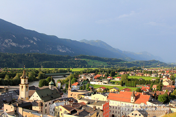 View from the Rattenberg Castle