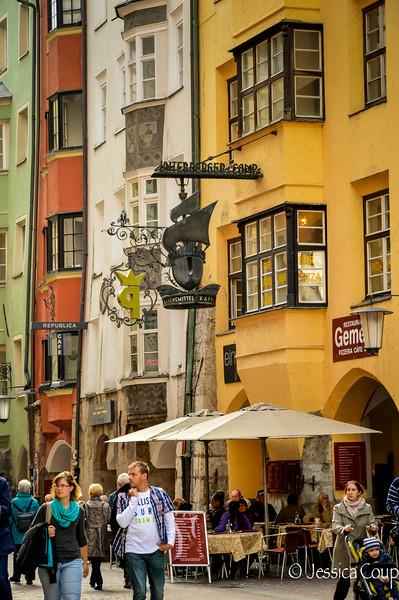 Signs of Innsbruck