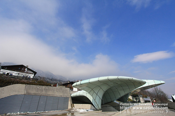 Hungerburgbahn Stations in Innsbruck, Austria