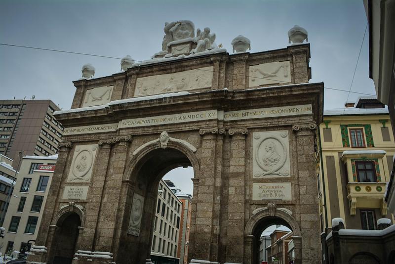 triumphal arch innsbruck austria