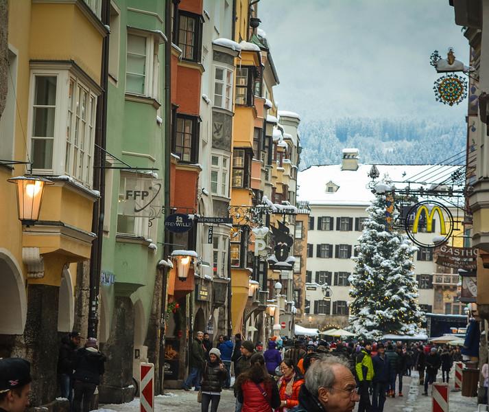 innsbruck austria christmas travel