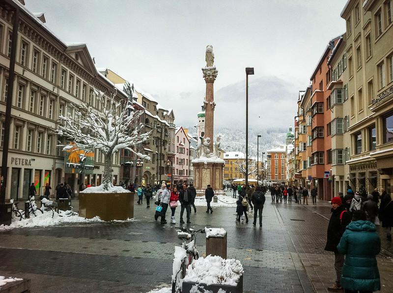 Maria Theresien Strasse Innsbruck Austria