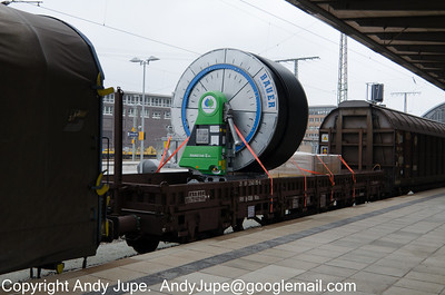 K Coded (81) (Ordinary flat wagon with separate axles)
