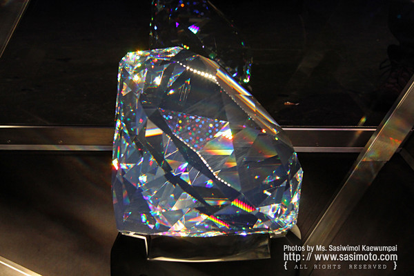 The Centenary : the world's largest ever manufactured crystal, 300,000 carats