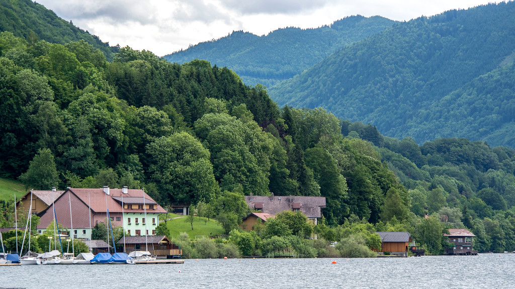 Mondsee, Austria on Lake Mondsee - Day trips from Salzburg