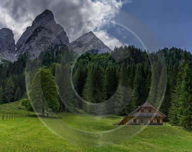 Seeklausalm Gosausee Upper Austria Oberoesterreich Lake Summer Panorama Landscape Photography - 024575 - 09-07-2015 - 11254x8909 Pixel