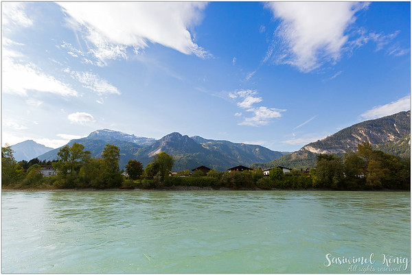 View of Inn River, Rattenberg - Austria