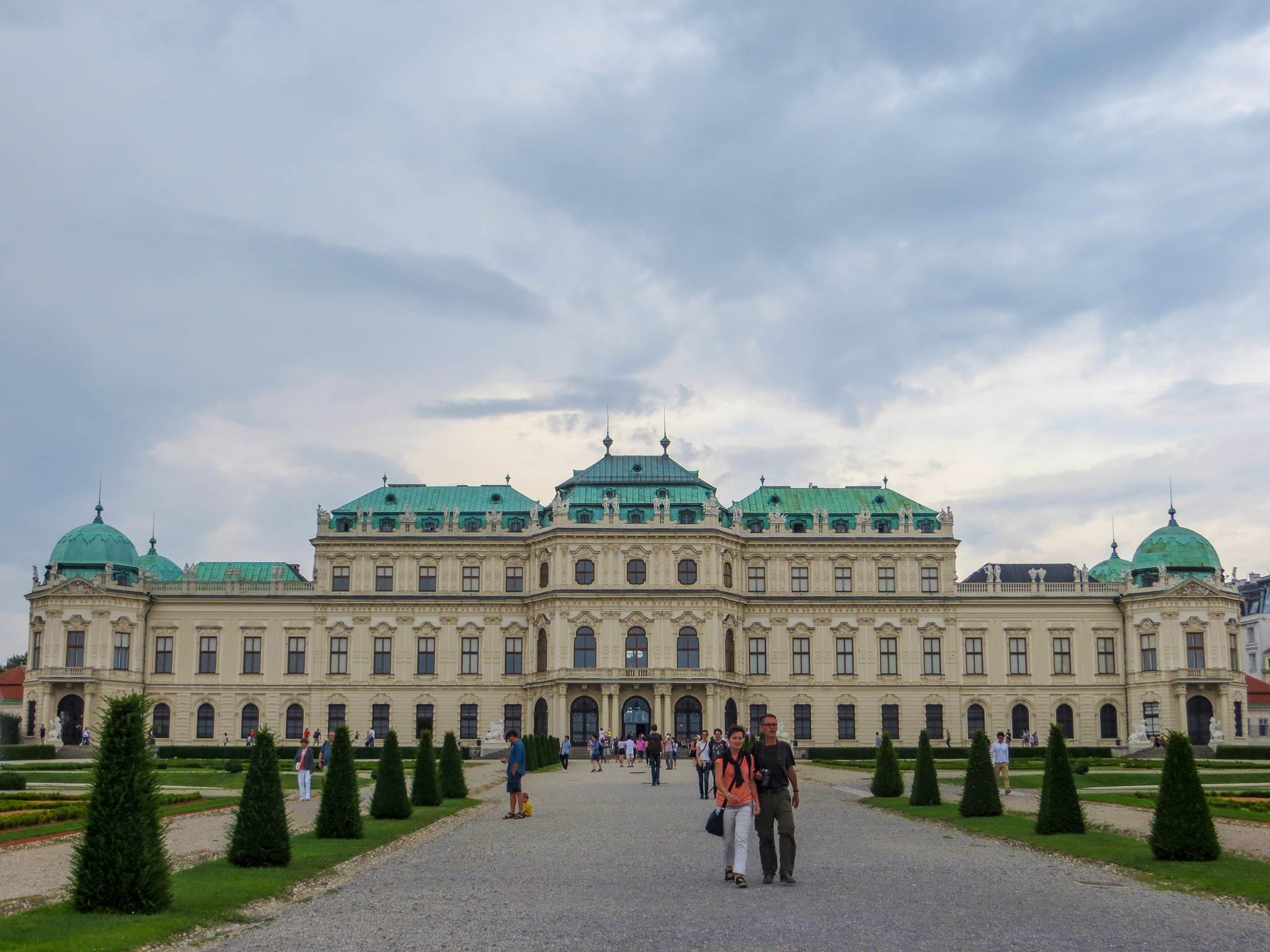 backpacking in europe for 2 weeks might bring you to vienna