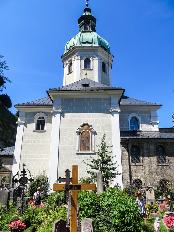 your salzburg city break ought to include st peter's