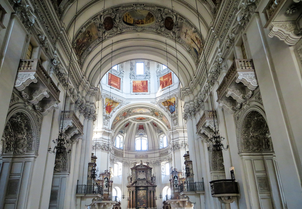 go inside the cathedral if you have 2 days in salzburg
