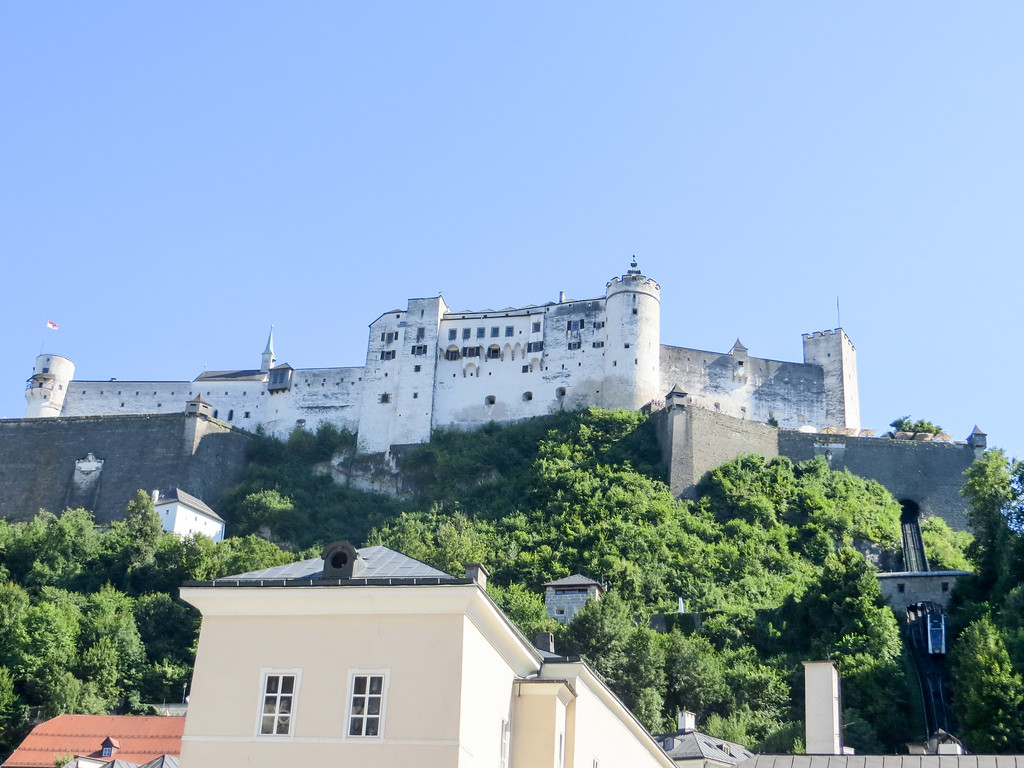 check out this epic fortress when visiting salzburg in two days