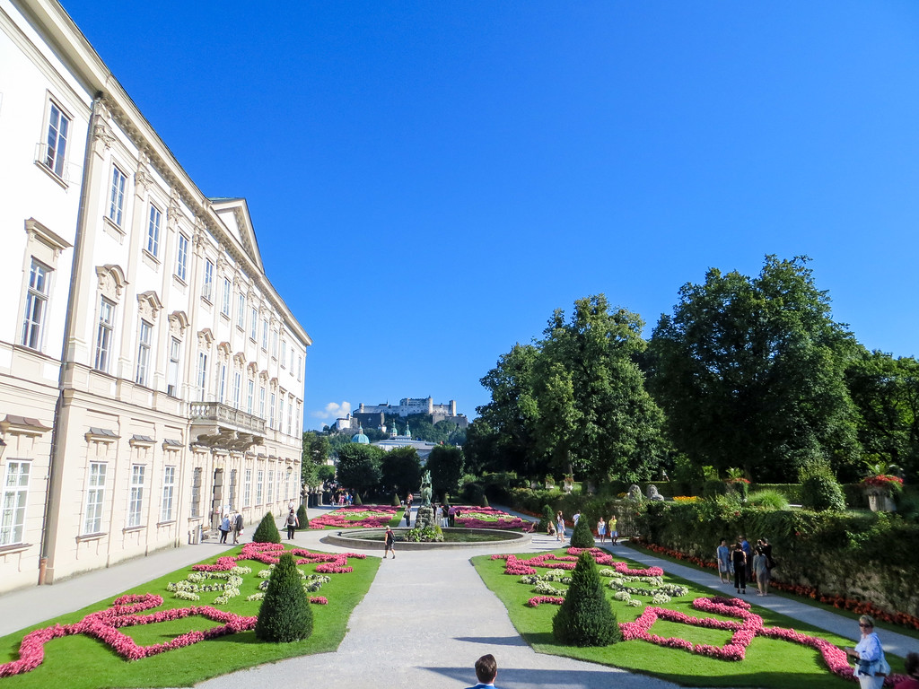 short breaks to salzburg are ideal travel opportunities esp if you like gardens like this one