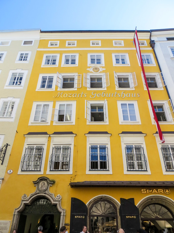 add mozart's house to you salzburg 2 day itinerary