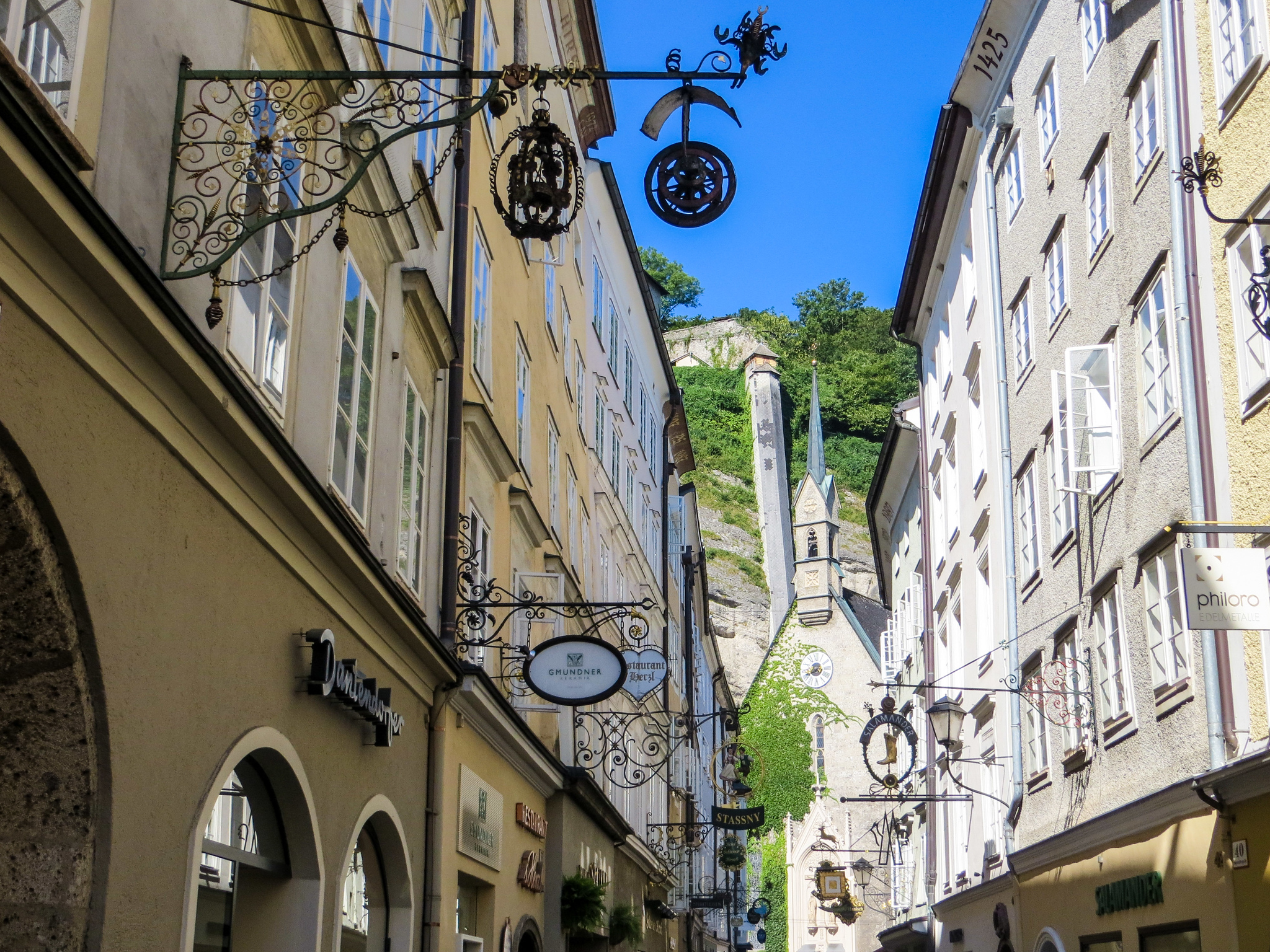 14 days in europe itinerary: don't skip small cities like salzburg