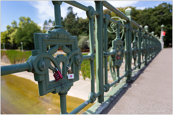 Not another love lock bridge please!