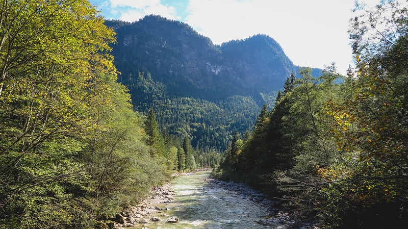 Kaiserklamm, a beautiful place to go hiking in Tyrol.
