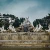 Fountain in Schonbrunn Palace