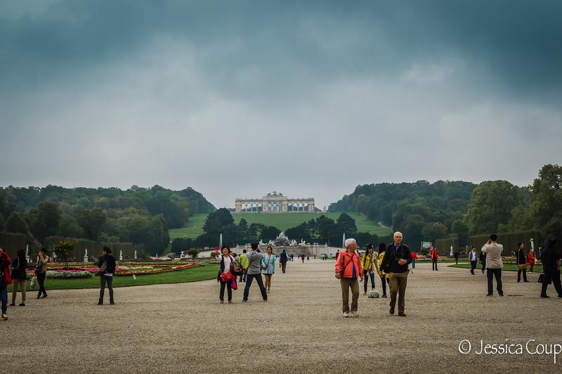 Gardens of Schonbrunn Palace