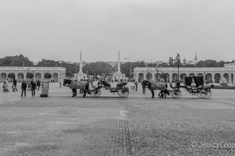 Schonbrunn Palace Entrance