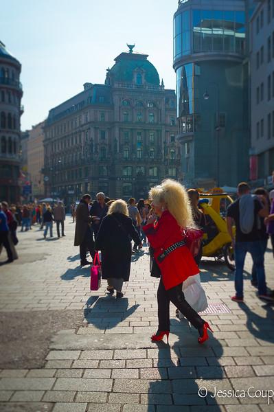 Dolly Parton in Stephansplatz?