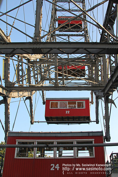 The Wiener Riesenrad (Ferris Wheel)