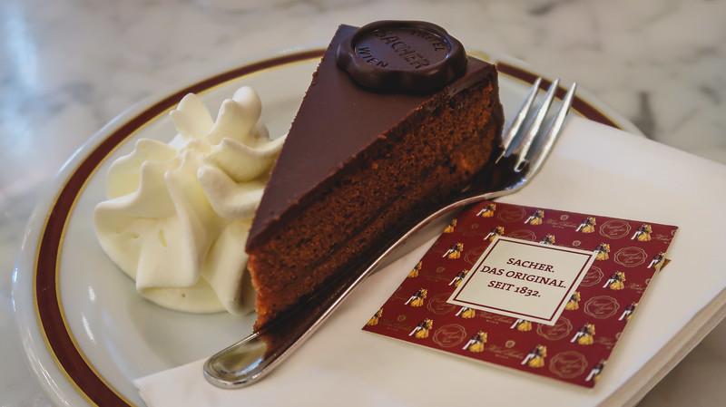 Eating Sacher Torte at Vienna's Famed Café Sacher