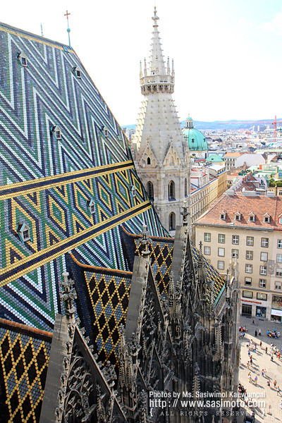 The roof, St. Stephen's Cathedral