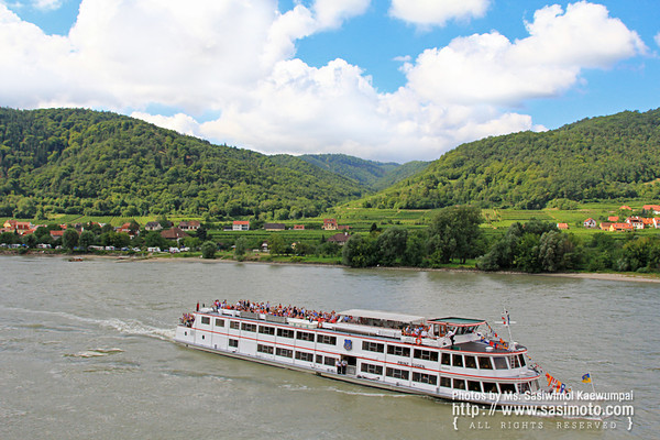 The Danube River, Wachau