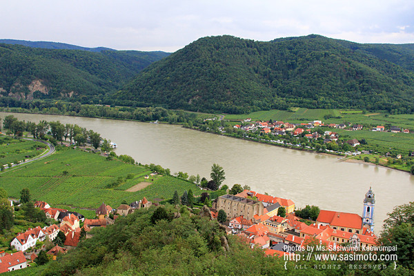 View from Dürnstein Castle, Wachau