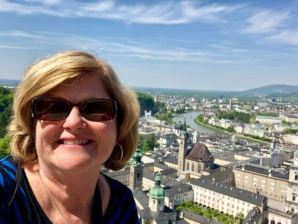 View from Hohensalzburg Fortress, Salzburg