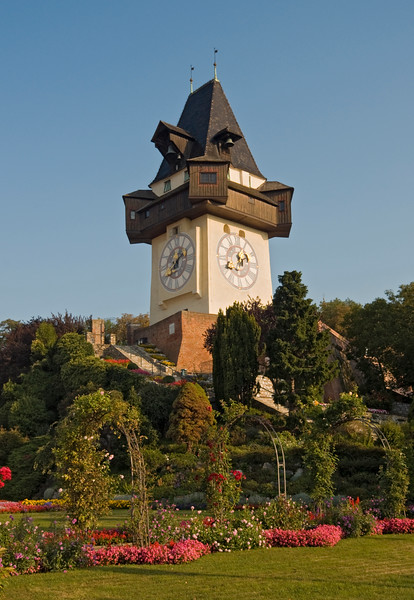 Clock Tower, Grazer Schlossberg Hill