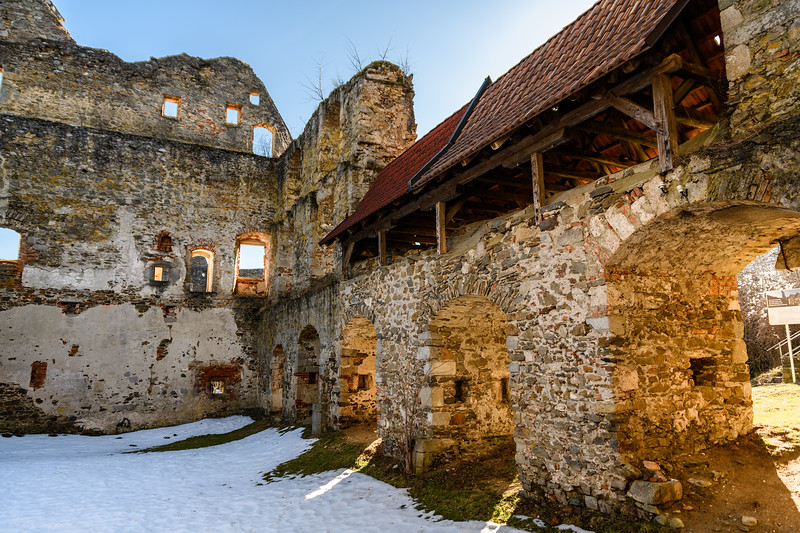 Palas at Castle Schaunberg