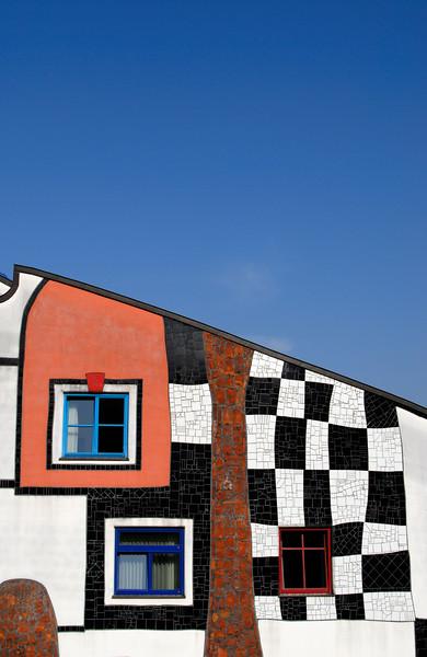 Facade of Kunsthaus, Bad Blumau