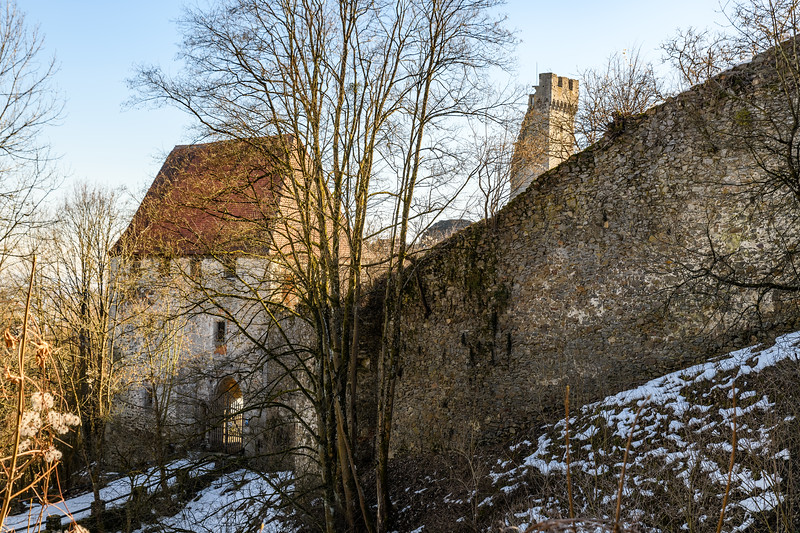 Schaunberg Castle Outer Gate