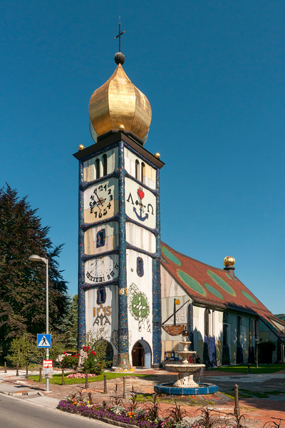Hundertwasser's Church of St. Barbara, Barnbach